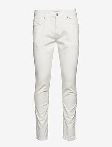 SLHSLIM-LEON 6221 OPT. WHITE ST JEANS W - slim jeans - white denim