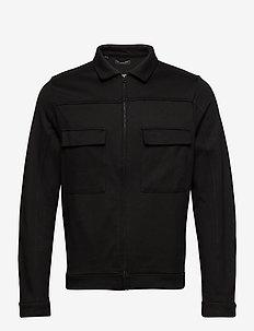 SLHJENNER SWEAT JACKET B - light jackets - black