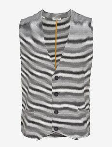 SLHBLAIR SWEAT WAISTCOAT W EX - waistcoats - medium grey melange