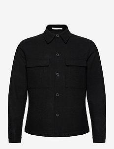 SLHREG-KANE BLZ B - wool jackets - black