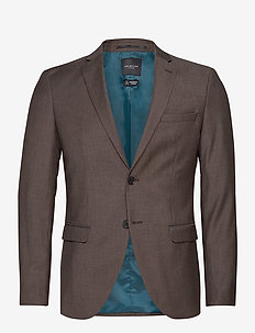 SLHSLIM-MYLOBILL CAMEL STRUC BLZ B NOOS - single breasted blazers - camel