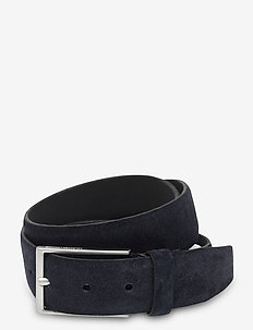 SLHPETER SUEDE BELT B - belts - sky captain