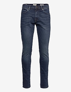 SLHSLIM-LEON 3032 MB SUPER ST JNS J NOOS - slim jeans - medium blue denim