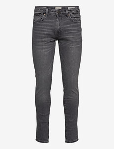 SLHSLIM-LEON 3035 MID.GREY ST JNS J NOOS - slim jeans - medium grey denim
