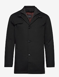 SLHSIMON COAT BP - kevyet päällystakit - black