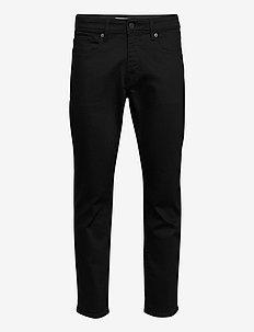 SLHSTRAIGHT-SCOTT 4001 BLK ST JNS J - slim jeans - black denim