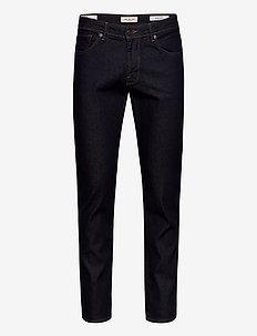 SLHSLIM-LEON 3002 RINSE ST JEANS J NOOS - regular jeans - dark blue denim
