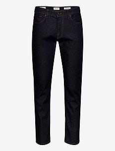 SLHSTRAIGHT-SCOTT 3002 RNE ST JNS J NOOS - slim jeans - dark blue denim