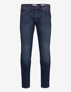 SLHSLIM-LEON 3004 D.BLUE ST JEANS J NOOS - slim jeans - dark blue denim