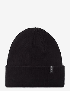SLHLOYD COTTON BEANIE B - luer - black