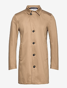 SLHNEW TIMELESS COAT - cienkie płaszcze - petrified oak