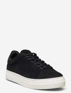 SLHDAVID CHUNKY CLEAN  SUEDE TRAINER B - baskets basses - black