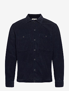 SLHLOOSECORD-NEW OVERSHIRT LS W - yläosat - sky captain