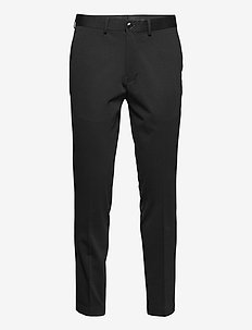 SLHSLIM-JIM FLEX TRS G - suitbukser - black