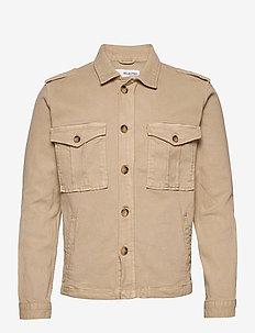 SLHPORTWAY JACKET W - light jackets - bone white