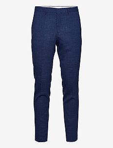 SLHSLIM-OASISLUE TRS - pantalons habillés - estate blue
