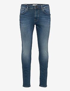 SLHSLIM-LEON 6266 M.B SU-ST JEANS U - skinny jeans - medium blue denim