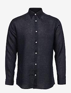 SLHREGREX-MUCHO SHIRT LS B - basic skjorter - navy blazer