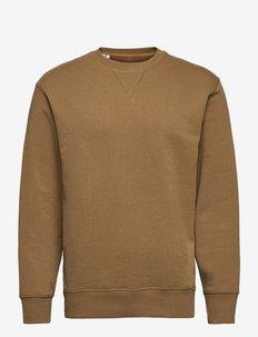 SLHJASON340 CREW NECK SWEAT S - kläder - ermine