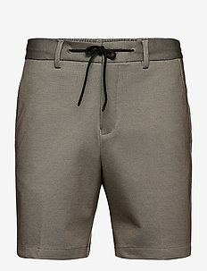 SLHPETE FLEX STRING SHORTS G CAMP - casual shorts - humus