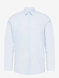 SLHSLIMNEW-LINEN SHIRT LS CLASSIC W - chemises à carreaux - skyway