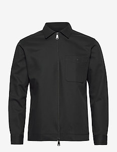 SLHLOOSEPETE STRETCH SHIRT LS B - overdeler - black