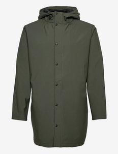 SLHMAGNE RAIN JKT W - manteaux de pluie - climbing ivy