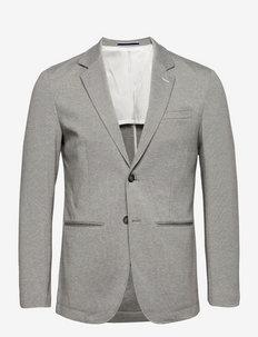SLHSLIM-RAFFLZ - single breasted blazers - light grey melange