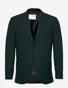 SLHSLIM-JACKBILL DARK GREEN BLZ B - single breasted blazers - dark green