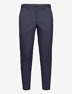 SLHSLIM-MYLOLOGAN NAVY CROP TRS B - dressbukser - navy blazer