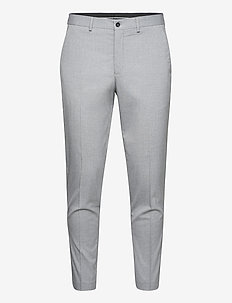 SLHSLIM-MYLOLOGAN LT GRY CROP TRS B - suitbukser - light grey melange