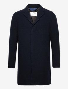 SLHHAGEN W COAT B - cienkie płaszcze - dark sapphire