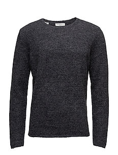 SHDCALI CREW NECK - DARK GREY MELANGE