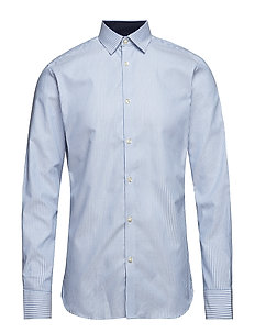 SELECTED HOMME Herren Slhregnew-Mark Shirt Ls B Ps Hemd