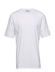 SHDFRELLY SS O-NECK TEE - BRIGHT WHITE