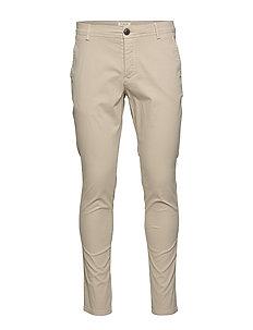 Pants W Noos Pantalon Homme SELECTED FEMME Slhskinny-luca Silver Lin