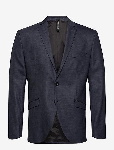 SLHSLIM-MYLOSTATE FLEX BL STR BLZ B - blazers à boutonnage simple - dark blue