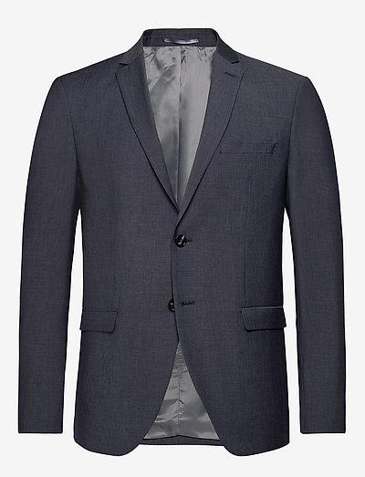 SLHSLIM-MYLOBILL LT BLUE STRC BLZ B - blazers à boutonnage simple - light blue