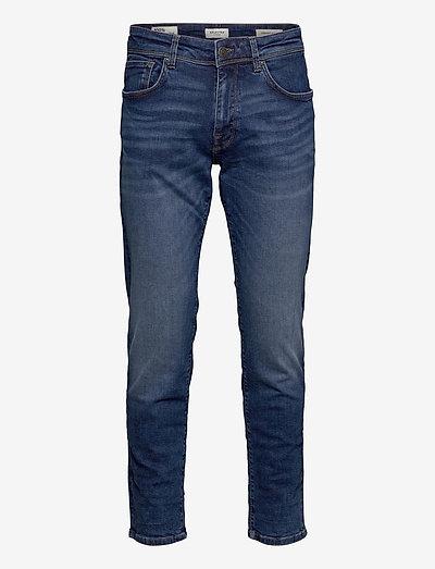SLHSTRAIGHT-SCOTT 6212 MB SU-ST JNS - regular jeans - medium blue denim