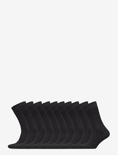 SLHANDREW 10-PACK SOCK B - chaussettes régulières - black