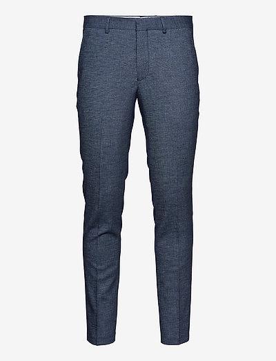 SLHSLIM-RORYBILL DK BLUE TWILL TRS B - slim jeans - dark blue