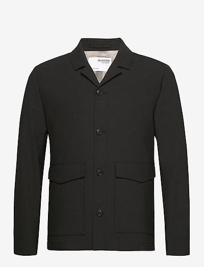 SLHREGULAR-JOECARLO FLEX STRUC HYBRID G - vestes légères - black