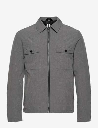 SLHPATRIK JACKET - vestes légères - grey melange
