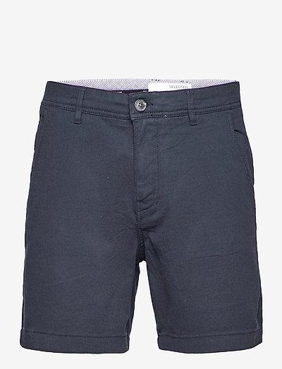 SLHSTORM FLEXHORTS - chinos shorts - dark sapphire