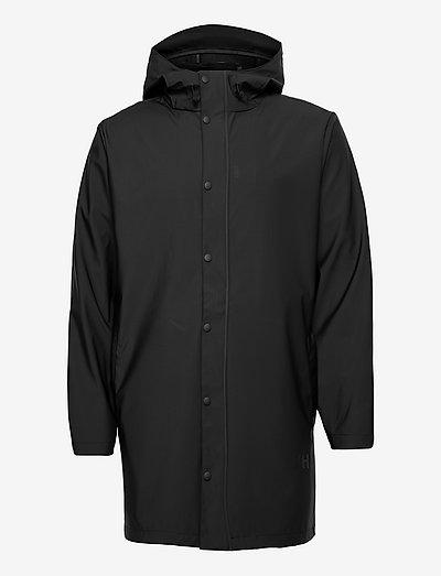 SLHMAGNE RAIN JKT W - płaszcze przeciwdeszczowe - black