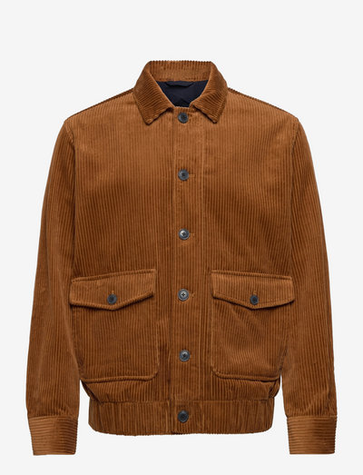 SLHTHOMAS CORD JKT - vestes en jean - monks robe