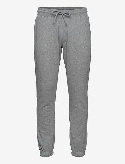 SLHBRYSON340 SWEAT PANTS S - kläder - medium grey melange