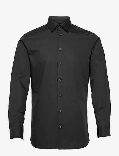 SLHSLIMETHAN SHIRT LS CLASSIC - basic shirts - black