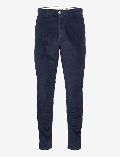 SLHSLIMTAPE-REPTON 172 CORD PANTS W - pantalons chino - dark sapphire