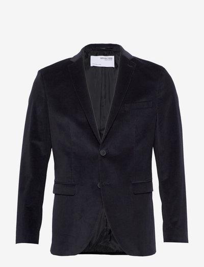 SLHSLIM-MYLOCORD DARK NAVYLZ - blazers à boutonnage simple - navy blazer